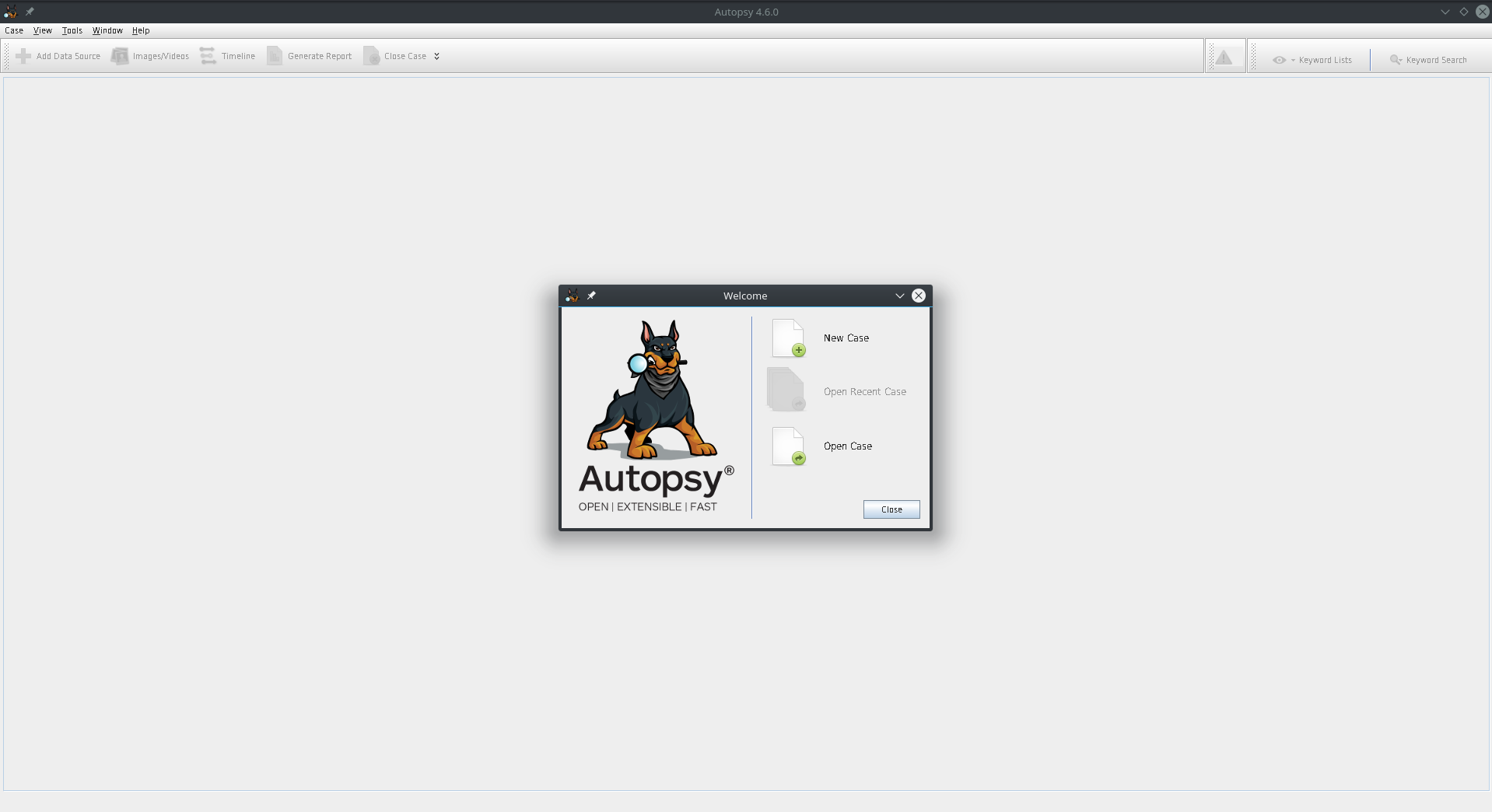 Install Autopsy 4 6 on Fedora Linux | My Journey in Tech